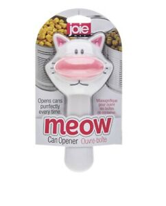 Joie-Meow-Cat-Kitty-Safety-Lid-Can-Opener-Leaves-No-Sharp-Edges-White-Pink-NIP