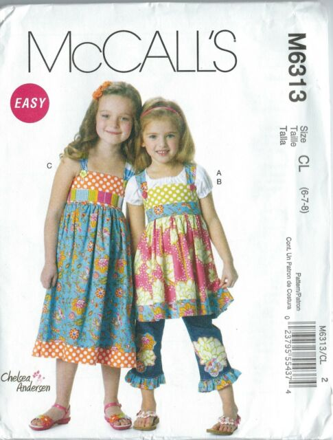 McCall/'s 5543 Sewing Pattern Kids/' /& Adults/' The Flintstones Costumes U-Pick Sz