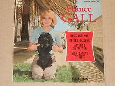 "FRANCE GALL -Attends Ou Va-T'en- 7"" EP 45"