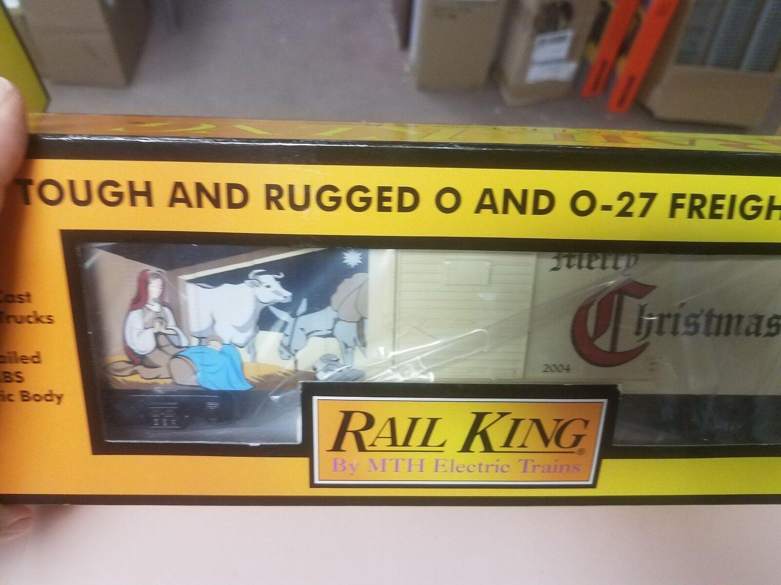 MTH Railking 2017 Christmas Boxcar 30 - 74890