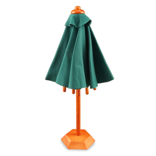 Reutter Porzellan Umbrella with Stand Standing Patio Umbrella Dollhouse 1:12