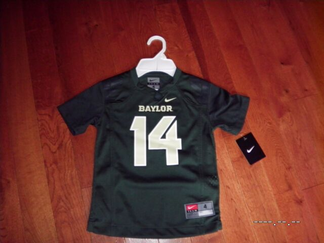 new concept 9e776 cf0b3 Nike NCAA Toddlers Baylor Bears #25 Football Jersey Green 4t