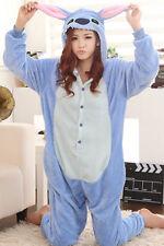 Blue or Pink ADULT Lilo STITCH KIGURUMI Halloween Costume! Onesie Animal Pajama