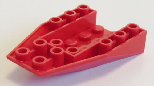 Ecke / Wedge 6 x 4  3-fach geneigt rot #4856a 2 St. invers / negativ LEGO