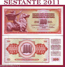 YUGOSLAVIA   100 DINARA 12.8. 1978      P  90a    FDS / UNC