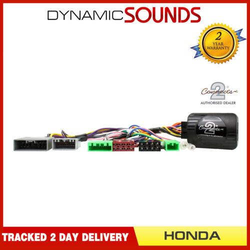 Ctsho 002 estéreo JVC Volante Control Tallo Cable Adaptador Para Honda Civic