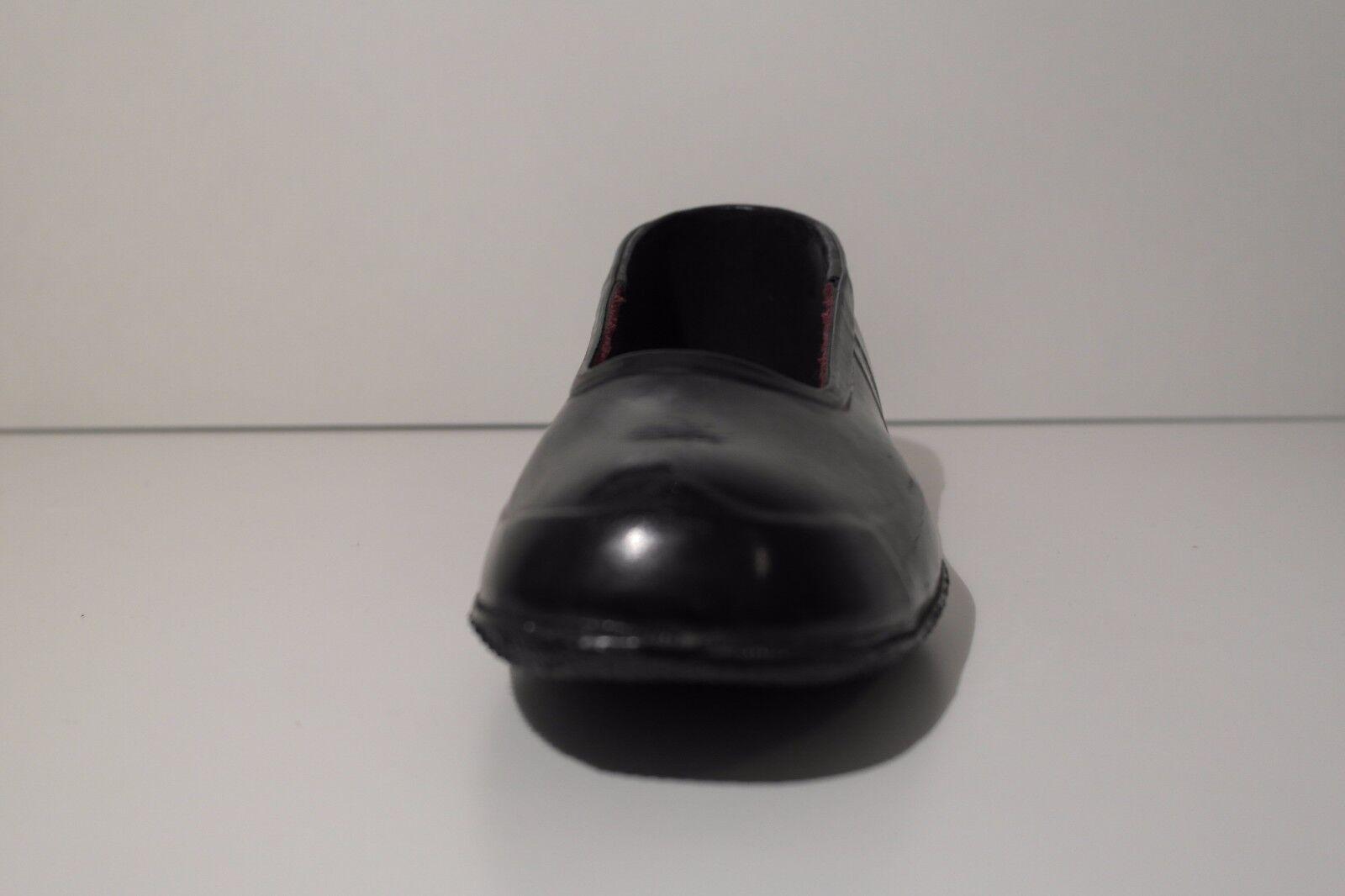 TRUE VINTBGE 50er schwarz Herren Schuhe Überzieher Galoschen schwarz 50er Halbschuhe Meteor af525d