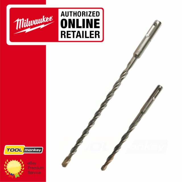 Milwaukee Sds-plus drill bits 2 Cut 6 mm x 160 mm MIL2307069 1