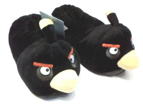 OVP * Größe wählbar Black Bird Angry Birds Hausschuhe NEU Pantoffel