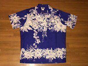 0f888c95 Image is loading Vintage-70s-Hilo-Hattie-Mens-Hawaiian-Shirt-Large-