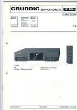 Grundig Service Anleitung Manual Receiver T 6   B405
