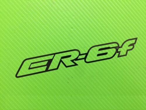 Track Bike or Toolbox ref #195H ER6-F logo decal Sticker for ER6F Race