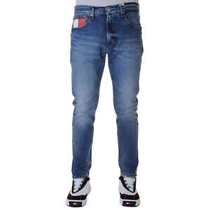 Dettagli su Tommy Hilfiger Modern Tapered TJ 1988 Jeans Uomo DM0DM06980 1A4 Navajo Mt Bl Com