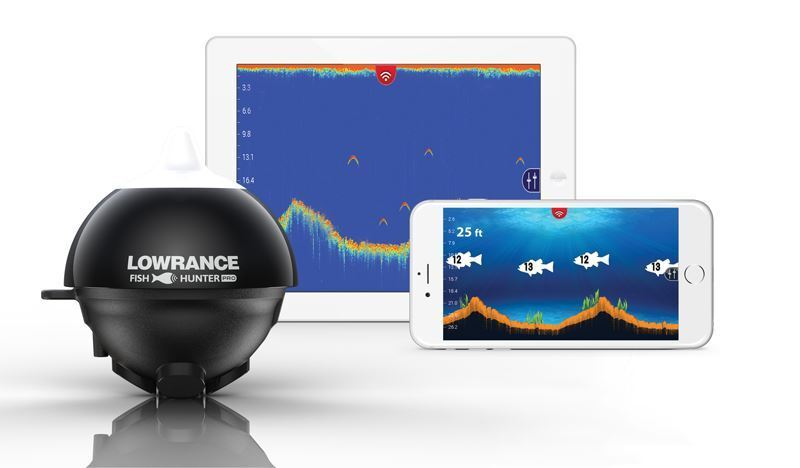 Lowrance FISH HUNTER PRO REFRATTARIA Wireless Ecoscandaglio