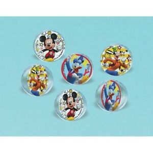 28d941b0a69db MICKEY MOUSE On the Go BOUNCE BALLS (6) ~ Birthday Party Supplies ...