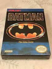 Nintendo BATMAN THE VIDEO GAME (NES, 1990) BRAND NEW FACTORY SEALED & RARE!