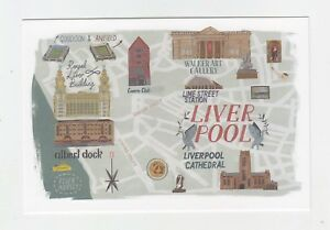 Mint-Map-Postcard-of-Liverpool-version-1-by-Star-Editions