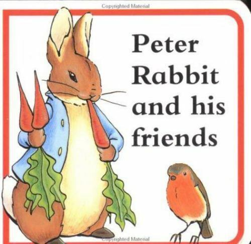 Peter Rabbit and Friends Potter, Beatrix Board book Used - Good
