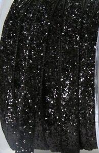 5-Metres-Velours-de-Paillettes-10mm-Dore-Velours-or-Cordon-Bande-Bracelet