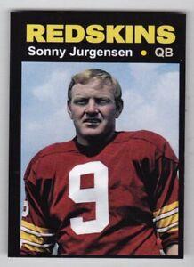 Sonny-Jurgensen-039-74-Washington-Redskins-Monarch-Corona-Glory-Days-34-NM-MINT