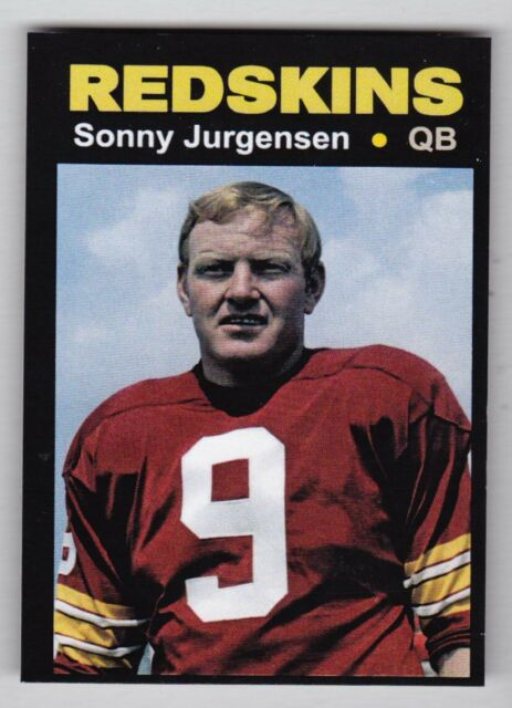 Sonny Jurgensen '74 Washington Redskins Monarch Corona Glory Days #34 NM-MINT