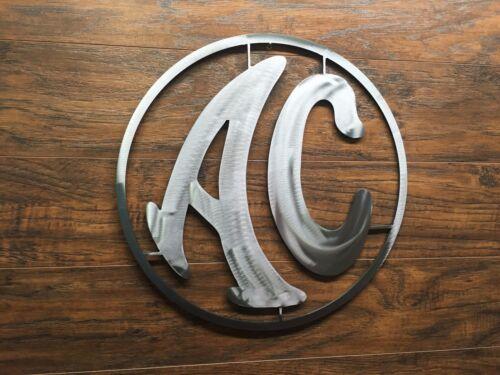 AC Logo Sign  Metal Wall Art Decor Man Cave Performance Car Cobra Shelby