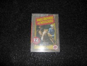 JAMES BROTHERS OF MISSOURI CLIFFHANGER SERIAL 12 CHAPTE