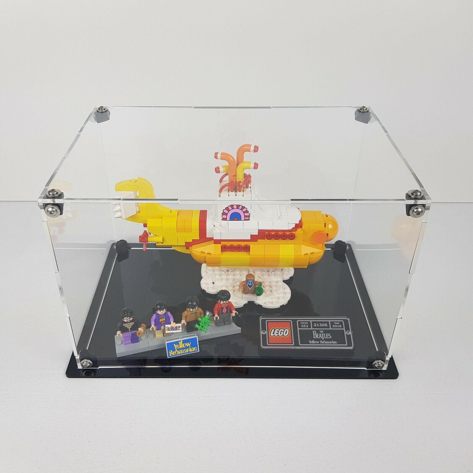 Teca zeigen LEGO 21306 Gelb Submarine