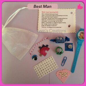 Wedding Gift Ideas Ebay : Details about Best Man Survival kitWedding Gift
