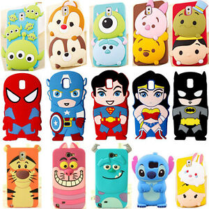 K7 3d cute cartoon super hero silicone soft case cover for for 3d decoration for phone cases