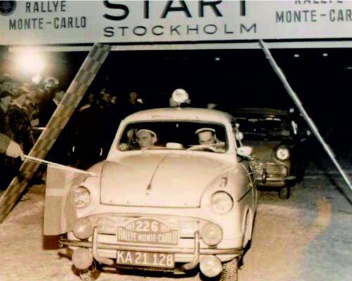 Lloyd Alexander ts Rally de Monte Carlo 1959 #226 1:18 decal estampado