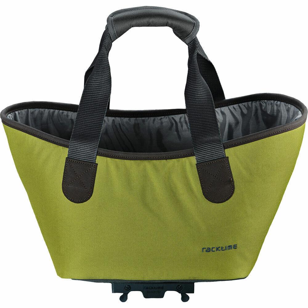 Racktime bolsa de compras agnetha 15l Lime verde bicicleta