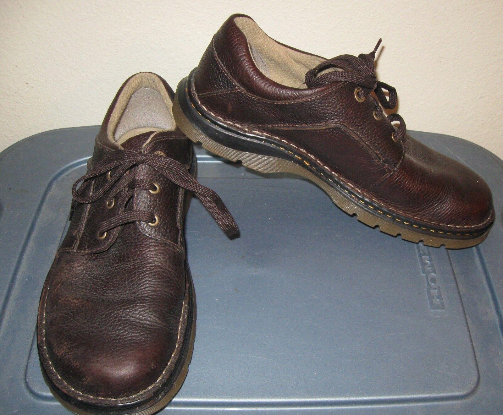 sconto di vendita Dr Martens Marrone oxfords scarpe 11 Uomo lace up leather leather leather 10 UK  l'ultimo