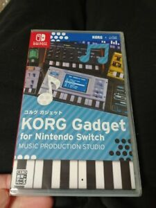 KORG-Gadget-for-Nintendo-Switch-Factory-Sealed-RARE-MINT-SHIPS-World-Wide