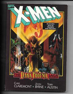X-Men-The-Dark-Phoenix-Saga-1-1984-FN-TPB-1St-Print-Marvel-Comics