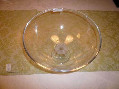 Nachtmann Glasschale Saga Durchmesser 26 cm, 24% Bleikristall