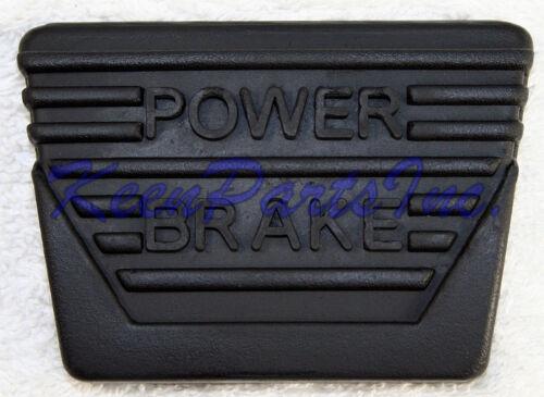 1963-1967 C2 Corvette Brake//Clutch Pedal Pad With Power Brakes Brand New