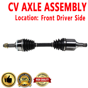 Front Driver Side Left CV Axle Drive Shaft ASSEMBLY For ALTIMA MAXIMA