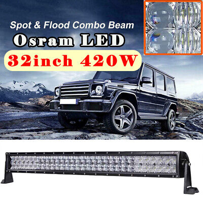 """OSRAM 15/"""" Inch Led Work Light Bar Combo Beam Offroad Driving Truck SUV 4WD CAO"""