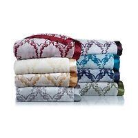On Sale Highgate Manor Velvety Plush Blanket -gray -king 2b41h