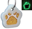 Glitter-Paw-Print-Pet-ID-Tags-Custom-Engraved-Dog-Cat-Tag-Personalized thumbnail 20