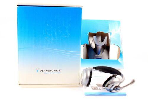NEUWERTIG mit OVP binaural MwSt Plantronics CS361 N//A Dect Headset zweiohrig