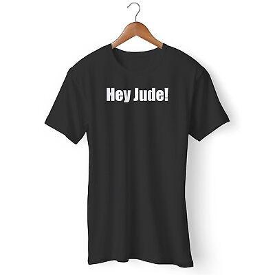 The Beatles Hey Jude Performance John Lennon Official Tee T-Shirt Mens Unisex