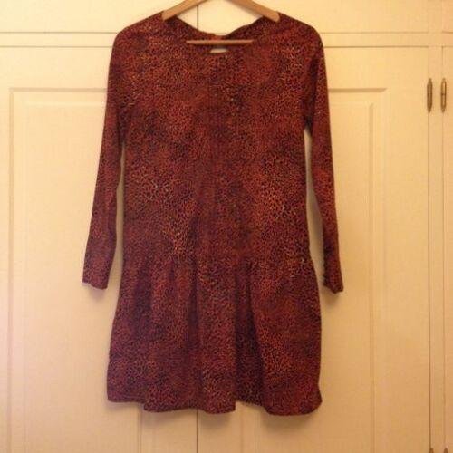 Bloggers S Zara Dress Uk 8 Pippa Size Leopard Animal Print Small rqOxvOX