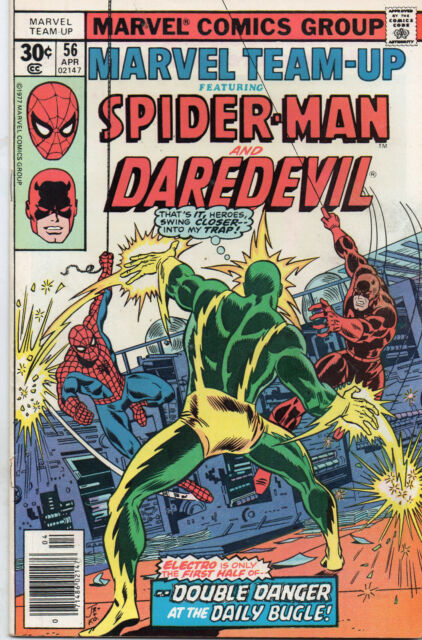 Marvel Team-Up #56 (Apr 1977, Marvel) VG