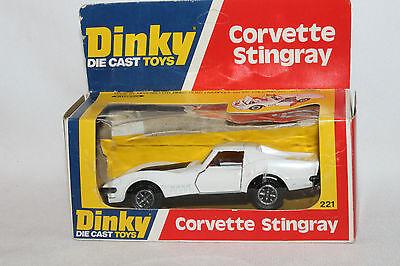 Dinky Wheel Hubs X 4 Fit Corvette Stingray  No.221 metal castings spare parts