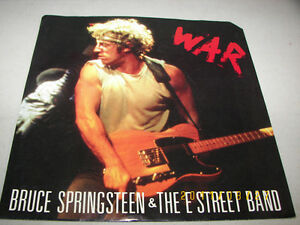 Bruce Springsteen Christmas.Details About Bruce Springsteen The E Street Band War Merry Christmas Baby 45 Nm W Ps