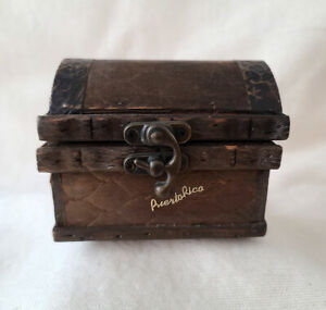 Small Wooden Trinket Chest 4 x 3