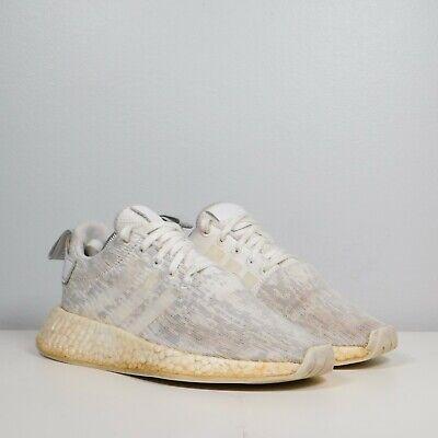 Size 6 - adidas NMD R2 White Grey 2017
