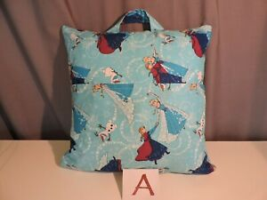 Reader-Pocket-Pillow-with-Elsa-Anna-Olaf-Frozen-16-034-by-16-034-Pillow-included